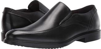 Hush Puppies Turner MT Slip-On (Black Waterproof Leather) Men's Shoes