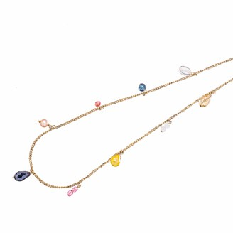 Abbott Collection 54-BOHO-NK-6538 Gem Collection Necklace-26 Long