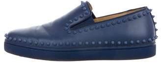 Christian Louboutin Pik Boat Slip-On Sneakers