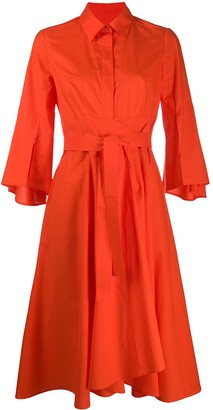 Paule Ka Flared Shirt Dress