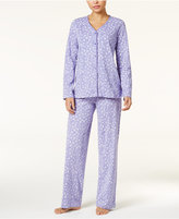 Charter Club Loop-Trimmed Knit Pajama Set, Only at Macy's