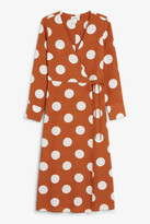 Thumbnail for your product : Monki Fitted wrap dress