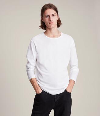 AllSaints Figure Long Sleeve Crew T-Shirt
