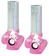 Hello Kitty USB Powered Dancing Water Speakers - Pink (KT4040)