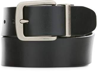 Perry Ellis Reversible Cut Edge Leather Belt