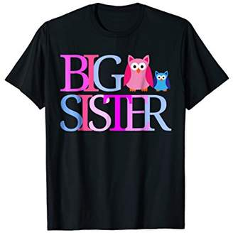 PROUD BIG SISTER T Shirt Owls Shirt Going To Be A Big Sister