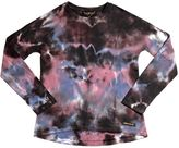 Finger In The Nose Tie-Dye Printed Cotton T-Shirt