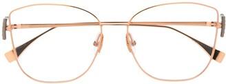 Fendi Eyewear Cat Eye Glasses