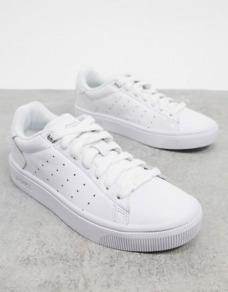 K-Swiss Court Frasco II sneakers in white