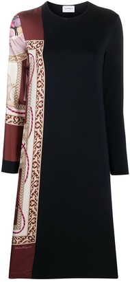 Salvatore Ferragamo Two-Style Midi Dress