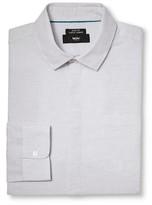 Mossimo Men's White Linen Buttondown Shirt