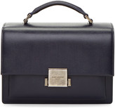 Saint Laurent Navy Bellechasse School Satchel