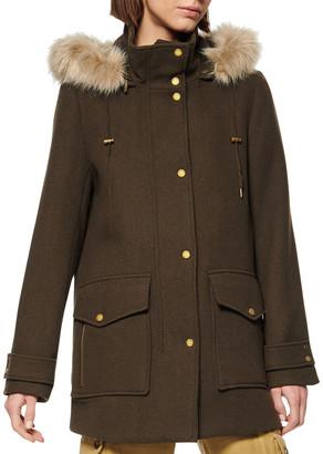 Andrew Marc 31.5 Duffle Coat