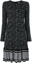 MICHAEL Michael Kors printed gathered dress - women - Polyester/Spandex/Elastane - S