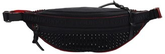 Christian Louboutin Parisnyc Waist Bag In Black Nylon