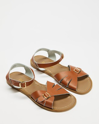 Saltwater Sandals - Women's Brown Strappy sandals - Classic Sandals - Women's - Size 8 at The Iconic