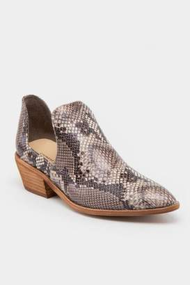 Chinese Laundry Focus Open Side Ankle Boot - Snake