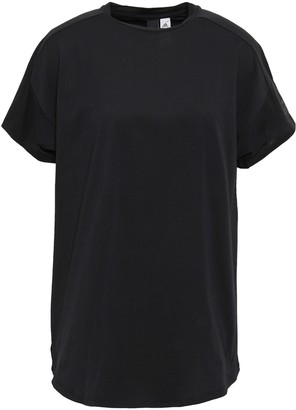 adidas Laser Cut-paneled Cotton-jersey T-shirt
