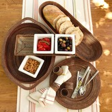 Williams-Sonoma Williams Sonoma Nito Oval Serving Tray with Handles