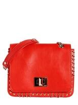 Emilio Pucci Marquise Matt Leather Shoulder Bag