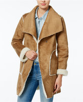 Wildflower Reversible Faux-Shearling Coat, Only at Macy's