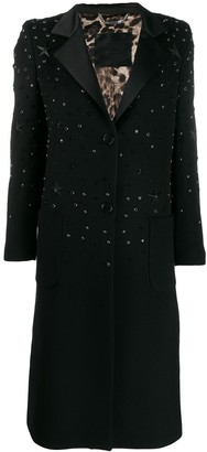 Philipp Plein Star Studded Coat