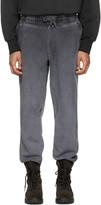 Yeezy Black Panelled Sweatpants