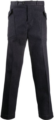 Pt01 Multi-Pocket Denim Trousers