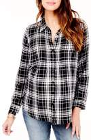 Ingrid & Isabel R) Pintuck Maternity Shirt