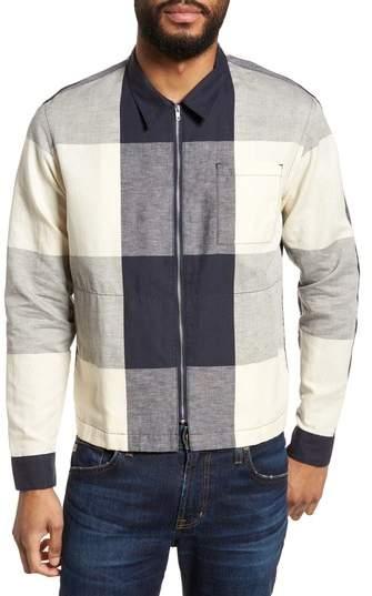 YMC Doc Savage Regular Fit Check Sport Shirt