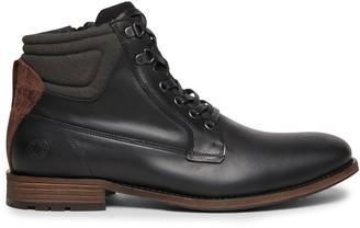 Steve Madden Vibes Black Leather