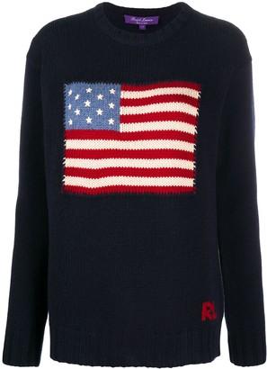 Ralph Lauren Collection Flag Logo Cashmere Jumper