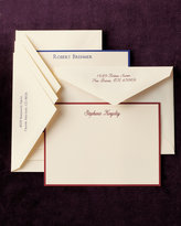 50 Personalized Correspondence Cards w/ Plain Envelopes