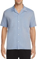 Vince Cabana Chambray Slim Fit Button-Down Shirt