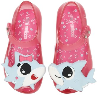 Mini Melissa Baby Sharks Rubber Shoes