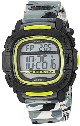 Timex 47 mm Boost Camo Strap (Camo Green) Watches