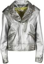 Golden Goose Metallic Biker Jacket