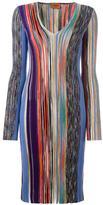 Missoni ribbed knit dress - women - Silk/Nylon/Polyester/Wool - 38