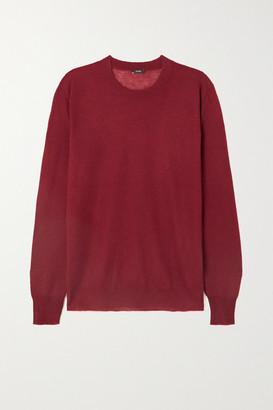 Joseph Cashmere Sweater - Burgundy