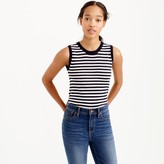 J.Crew Featherweight cashmere shell in stripe