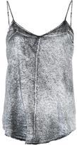 RtA metallic cami top