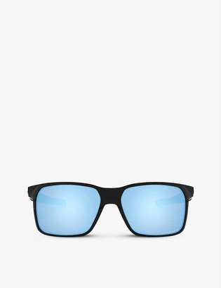 Oakley OO9460-0459 Portal X O MatterTM rectangular-framed sunglasses