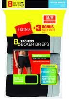 Hanes Red Label Men's Freshiq Comfortsoft Waistband Boxer Briefs (5-Pack + 3 Free)