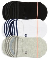 Stance Women's Super Invisible 3-Pack No-Show Socks