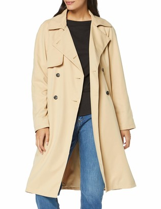 Meraki Amazon Brand Women's Water Resistant Trench Coat