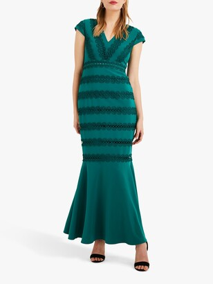 Phase Eight Collection 8 Zelma Fishtail Dress, Jade