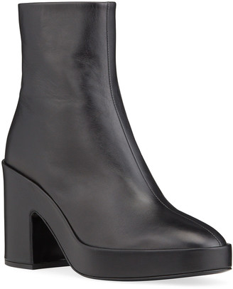 Rag & Bone Fei Leather Platform Booties