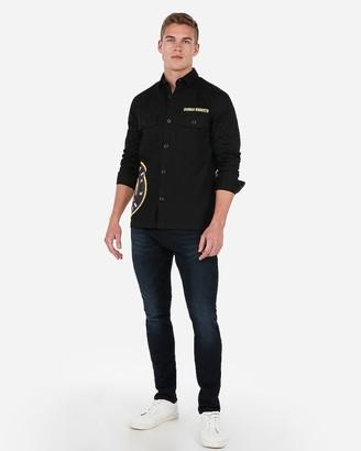 Express Denver Nuggets Nba Twill Shirt Jacket