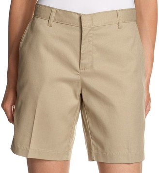 Dickies Women's Wrinkle and Stain Resistant Flat Front Short