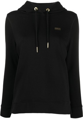 Barbour Chest Logo Hoodie